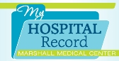my hospital record logo